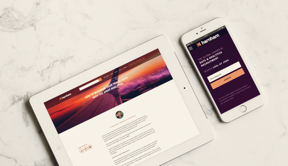 Welcome to Harnham's New Online Home
